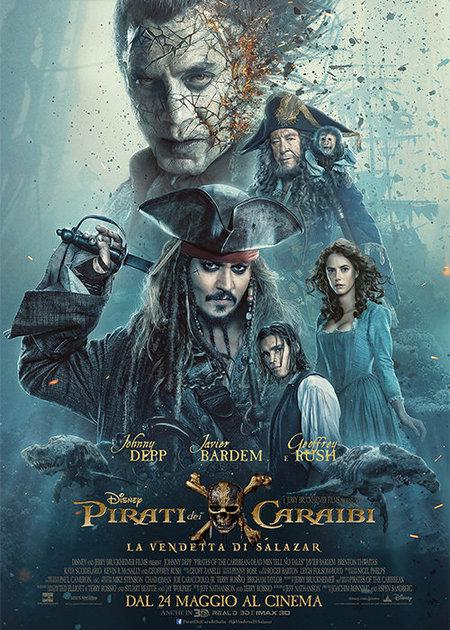 PIRATI DEI CARAIBI - LA VENDETTA DI SALAZAR (PIRATES OF THE CARIBBEAN: DEAD MEN TELL NO TALES)