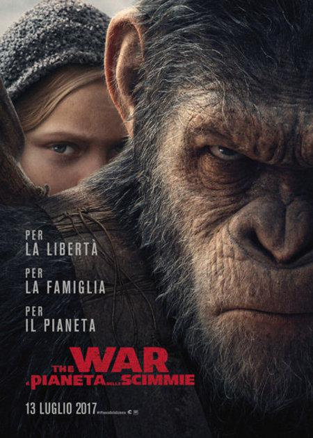 THE WAR - IL PIANETA DELLE SCIMMIE - 3D (WAR FOR THE PLANET OF THE APES)